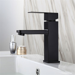 Single HandleBathroomFaucet, Painted Finishes OneHole Centerset Basin Faucet,Stainless Steel Bathroom Sink Faucet Contain...