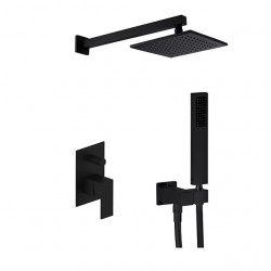 Shower Set Set - Rainfall Contemporary,Modern Style Painted Finishes Wall Mounted Ceramic Valve Bath Shower Mixer...