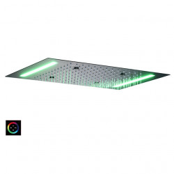 Contemporary Rain Shower Painted Finishes Feature - LED,Shower,Color Gradient, Shower Head,Rainfall