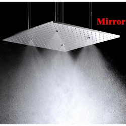 20 Inch Stainless Steel 304 Ceiling Mounted Bathroom Shower Head With Atomizing And Rainfall Rainfall and Waterfall Dual...