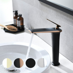 Bathroom Sink Faucet - Pull out Painted Finishes Other Single Handle One HoleBath Faucet