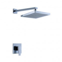 Contemporary Shower Faucet with 8 inch Shower Head