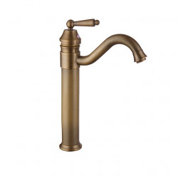Bathroom Sink Faucet - Widespread Antique Copper,Gold,Rose Gold Other Single Handle One HoleBath Faucet