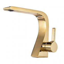 Bathroom Sink Faucet - Widespread Electroplated Other Single Handle One HoleBath Faucet,Brass