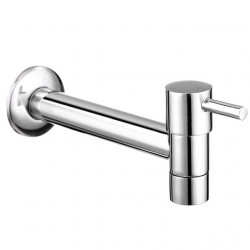 SingleHandleBathroomFaucet,Chrome One HoleCenterset Wall Mounted Contemporary,Brass Bathroom Sink Faucet with Cold Water...