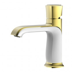 Bathroom Sink Faucet - Widespread Chrome,Oil-rubbed Bronze,Brushed Centerset Single Handle One HoleBath Faucet