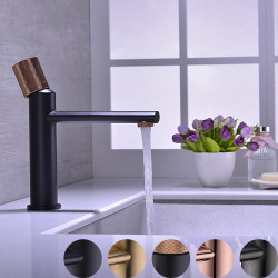 Bathroom Sink Faucet - Widespread Oil-rubbed Bronze,Gold,Rose Gold Centerset Single Handle One HoleBath Faucet