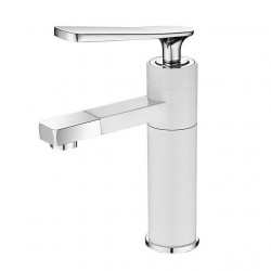 Bathroom Sink Faucet - Widespread Electroplated Vessel Single Handle One HoleBath Faucet