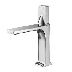 Bathroom Sink Faucet - Widespread Electroplated Vessel Single Handle One HoleBath Faucet,Brass