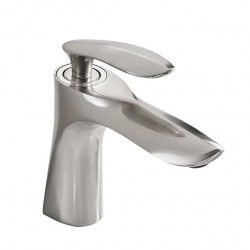 Bathroom Sink Faucet - Widespread Brushed Free Assemblement Single Handle One HoleBath Faucet