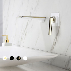 Bathroom Sink Faucet - Waterfall Painted Finishes Other Single Handle One HoleBath Faucet