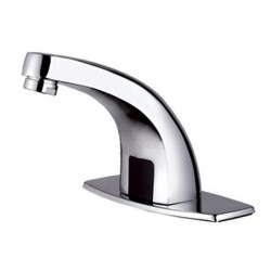 Bathroom Sink Faucet - Touch,Touchless,Standard Electroplated Deck Mounted Single Handle One HoleBath Faucet