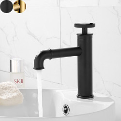 Bathroom Sink Faucet - Standard Electroplated Other Single Handle One HoleBath Faucet