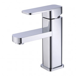Bathroom Sink Faucet - Standard Chrome,Painted Finishes Centerset Single Handle One HoleBath Faucet,Brass