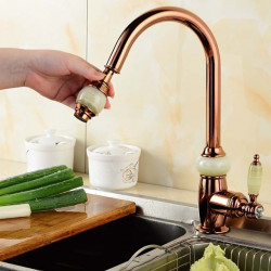 Kitchen faucet - Single Handle One Hole Pull-out,Pull-down,Tall,High Arc Contemporary Kitchen Faucet