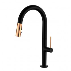 Kitchen faucet -Classic Pull-out,Pull-down Single Handle One Hole Painted Finishes Tall,High Arc Other Contemporary Kitchen...