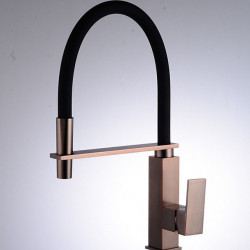 Kitchen faucet - Single Handle One Hole Nickel Brushed Tall,High Arc Ordinary Kitchen Faucet