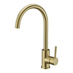 Kitchen faucet - Single Handle One Hole Electroplated Centerset Contemporary Kitchen Faucet,Brass