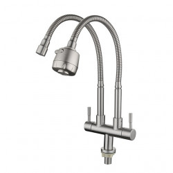 Kitchen faucet - Single Handle One Hole Electroplated Standard Spout Other Contemporary Kitchen Faucet