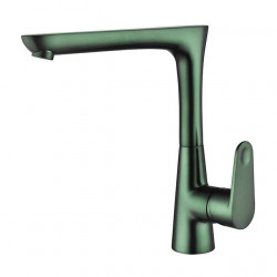 Kitchen faucet - Single Handle One Hole Chrome,Oil-rubbed Bronze,Nickel Brushed Standard Spout Centerset Contemporary Kitchen...