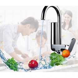 Kitchen faucet - Single Handle One Hole Chrome Purified water Centerset Contemporary Kitchen Faucet