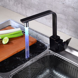 Kitchen faucet - Single Handle One Hole Oil-rubbed Bronze Tall,High Arc Centerset