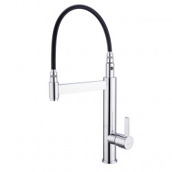 Kitchen faucet - Single Handle One Hole Chrome Pull-out,Pull-down,Tall,High Arc Centerset Patterned Tights