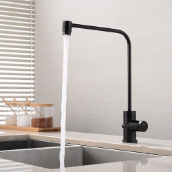 Kitchen faucet - Single Handle One Hole Nickel Brushed,Painted Finishes Purified water Mount Outside Contemporary Kitchen Faucet